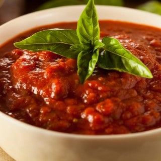 Skinny Slow Cooker Spaghetti Sauce - 1 Weight Watchers SmartPoint