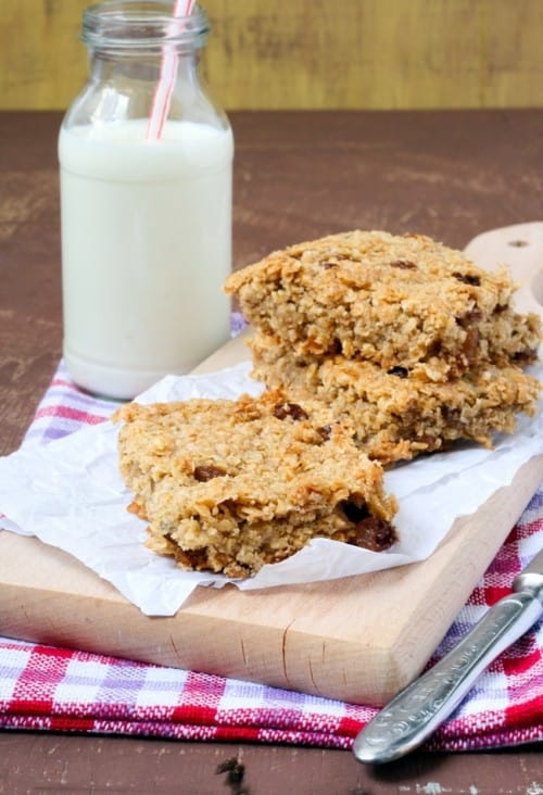 Oprah's Healthy Apricot Oat Bars