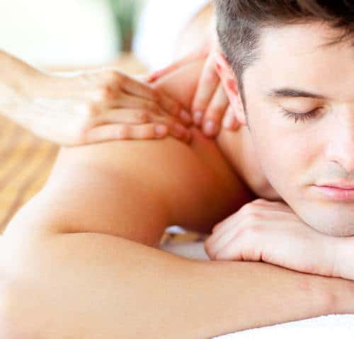 Massage with Essential Oils to Promote Feelings of Relaxation