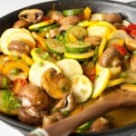 Easy Healthy Zucchini Mushroom Tomato Skillet Just 1 Weight Watchers SmartPoints
