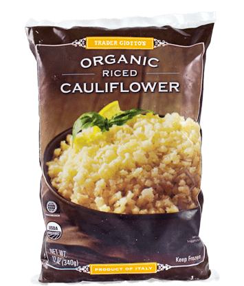 Trader Joe's Organic Cauliflower Rice Couscous