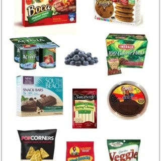 Smart Snacks for Weight Watchers with 4 SmartPoints or Less