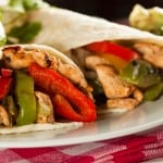 Easy Healthy Chicken Fajitas for Weight Watchers