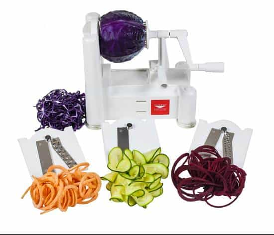 The Popular Paderno Veggie Spiralizer