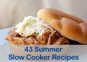 43 Simple Summer Slow Cooker Recipes for Weight Watchers