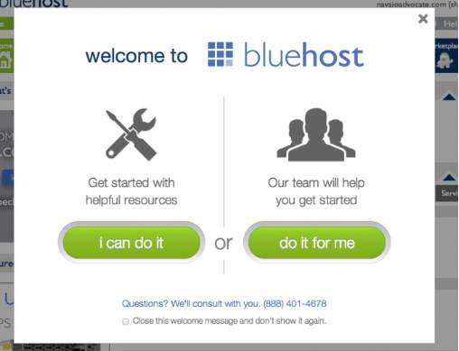 Bluehost Tutorial step10