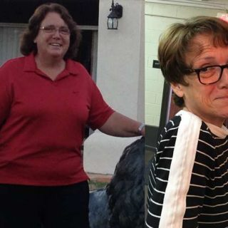 Judy M. Loses 108 Pounds Following Weight Watchers