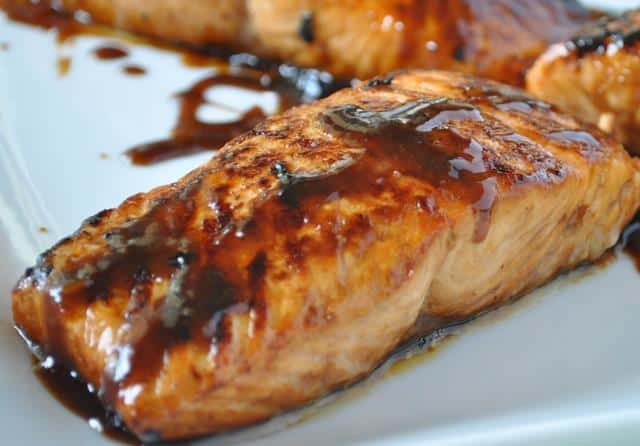 Weight Watchers Recipe for Honey Glazed Salmon