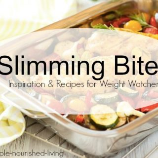Slimming Bites: Inspiration & Recipes for Weight Watchers & Giveaway