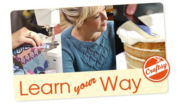 Learn from the world's best instructors in 1100+ classes from Craftsy
