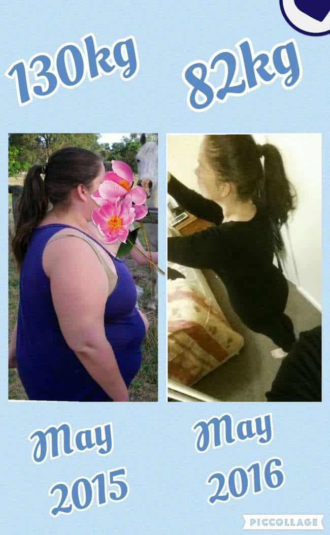 Find out how Fiona lost 47 kilos (about 103 pounds) in 13 months