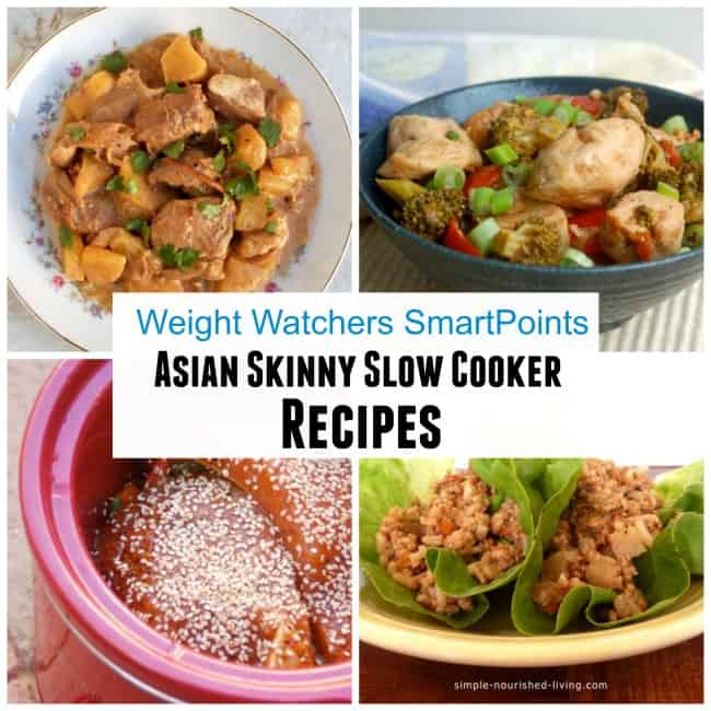 Asian Skinny Slow Cooker Recipes Weight Watchers SmartPoints