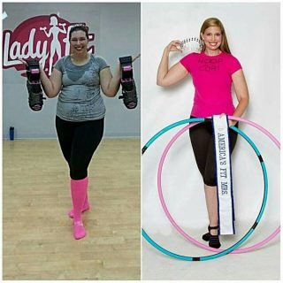 Weight Loss Success Story #25 – Cori Magnotta – Hula Hoops Herself Slim!
