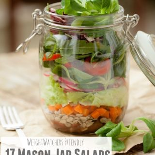 17 weight watchers mason jar salads