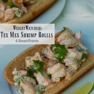 Weight Watchers No Cook Tex-Mex Shrimp Rolls – 4 SmartPoints
