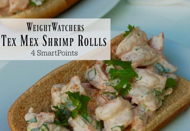 Weight Watchers Tex Mex Shrimp Rolls 4 SmartPoints