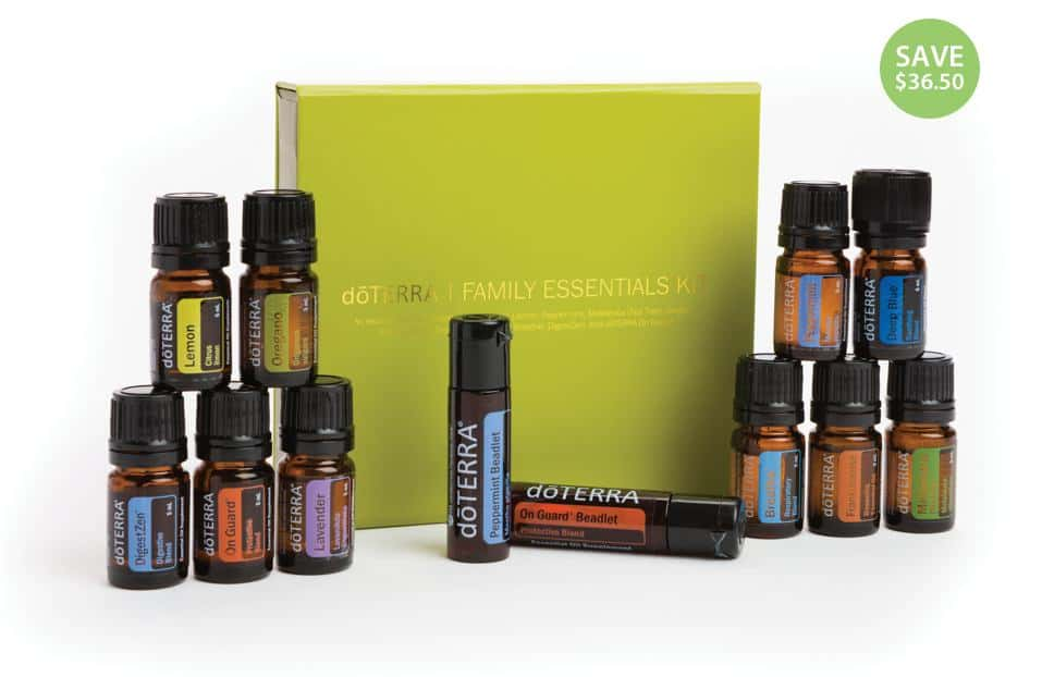 doTERRA Family Essentials & Beadlets Essential Oil Enrollment Kit