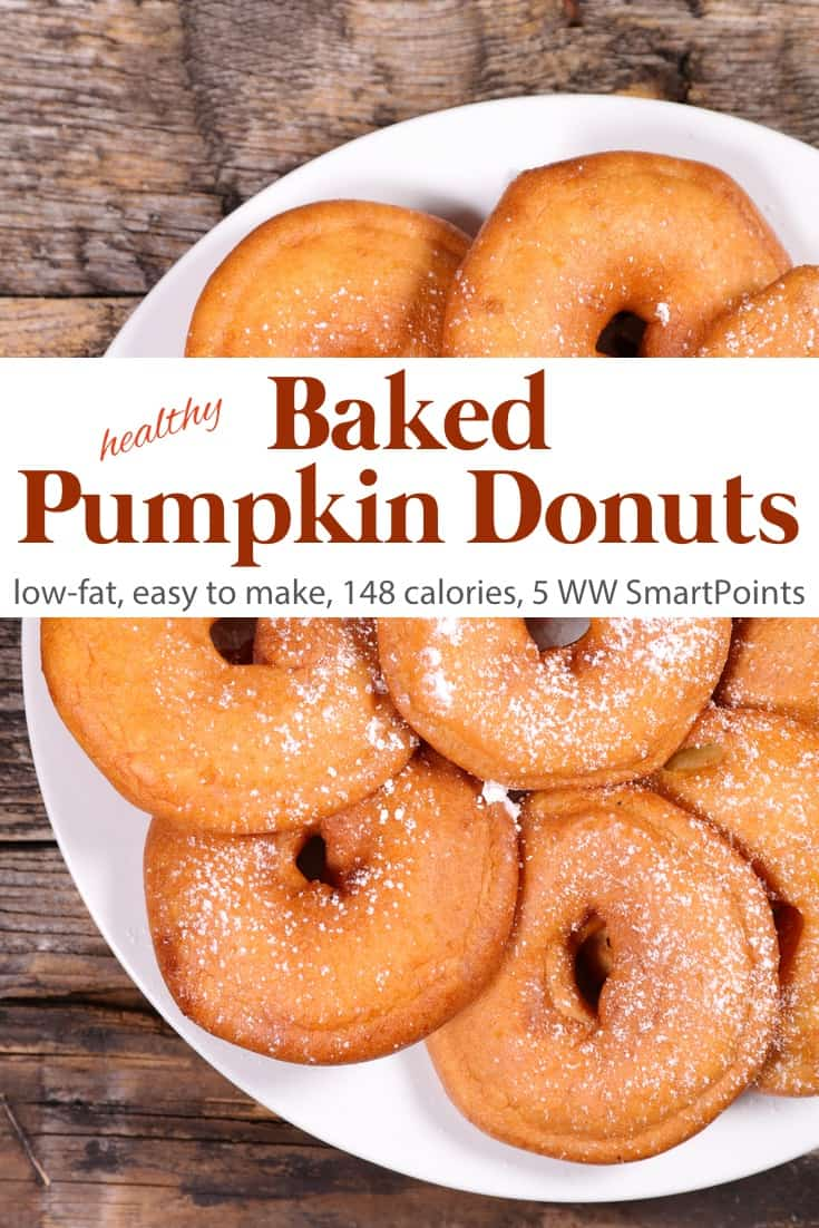 Healthy Baked Pumpkin Doughnuts Simple Nourished Living