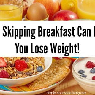 skipping breakfast for weight loss intermittent fasting