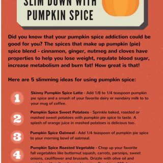 5 Ways to Slim Down this Fall with Pumpkin (Pie) Spice