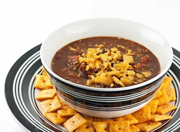 Easy Healthy Recipe for Vegetarian Chili for Weight Watchers