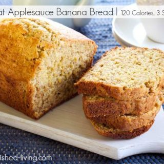 Low Fat Applesauce Banana Bread Just 3 Weight Watchers SmartPoints