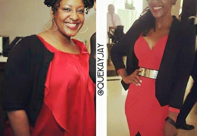 Queing Jones Weight Loss Success Before and After