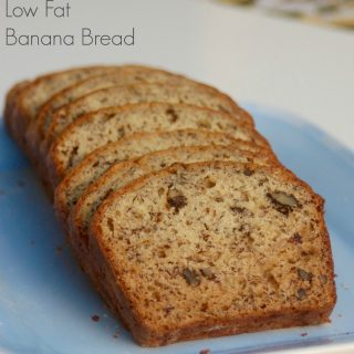 Simple Low Fat Banana Bread Recipe