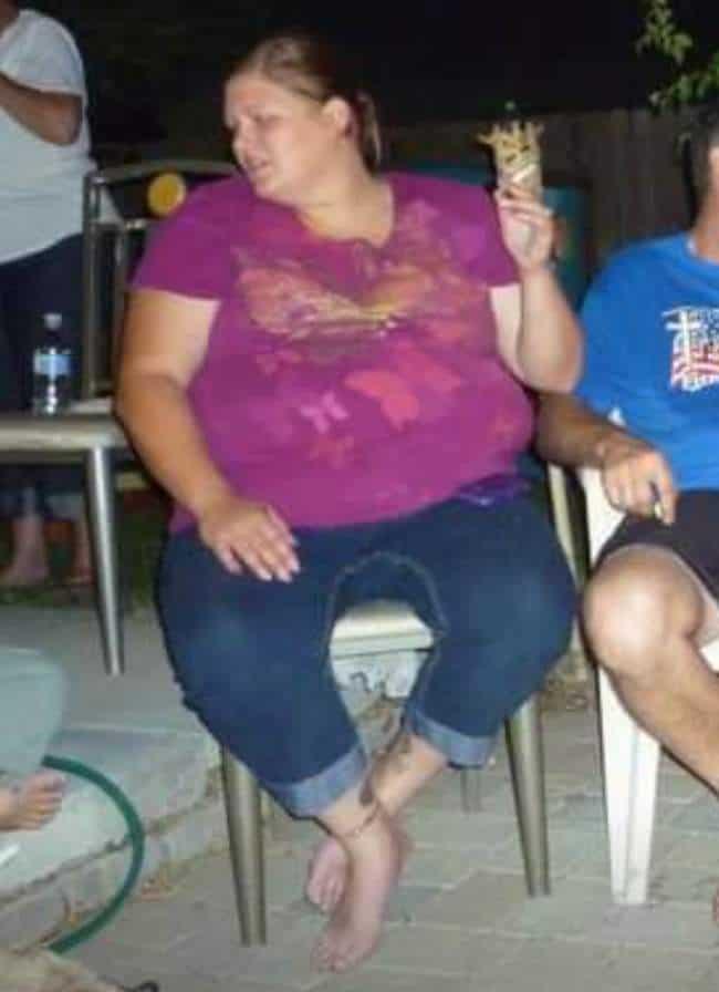 Becka Weight Loss Before Photo