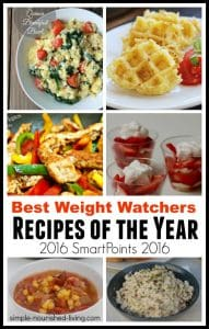 best weight watchers recipes of the year with smart points 2016