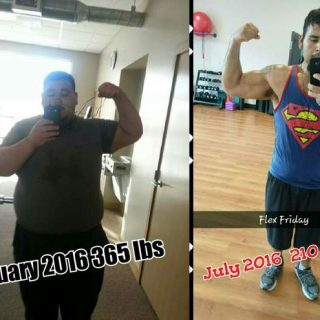Weight Loss Success Story #27 – Damian Cline Loses 180 Pounds with Anytime Fitness & My Fitness Pal