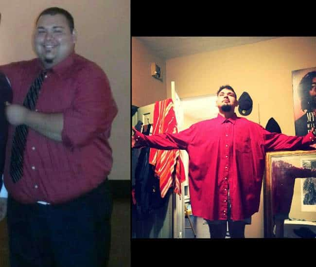 Weight Loss Success with Damian Cline