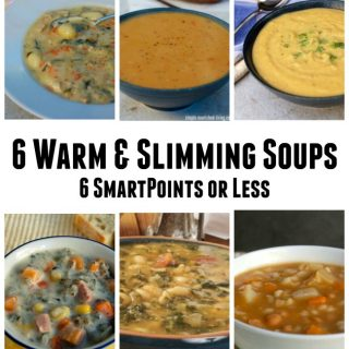 6 Warm & Slimming Soups with WW 6 SmartPoints or Less