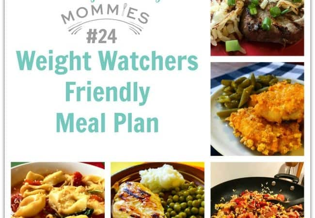 Weight Watchers Friendly Meal Plan 24 Meal Planning Mommies