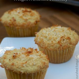 Weight Watchers One Bowl Coconut Muffins