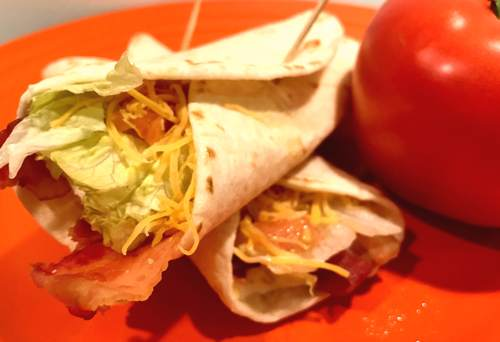 BLT Wraps - 5 WW SmartPoints