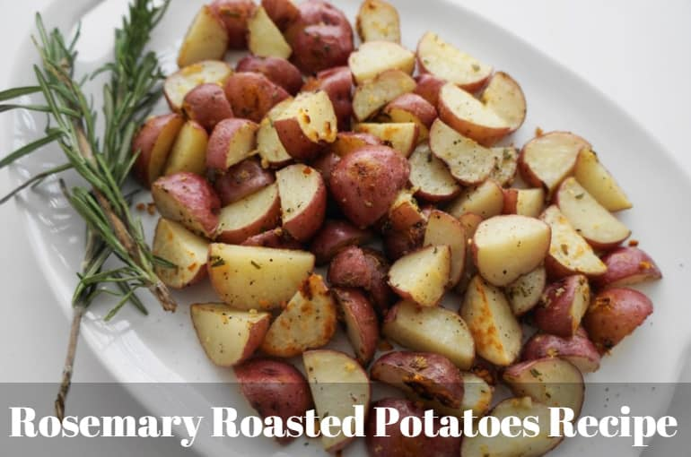 Easy Rosemary Roasted Potatoes Recipe Perfect for Weight Watchers