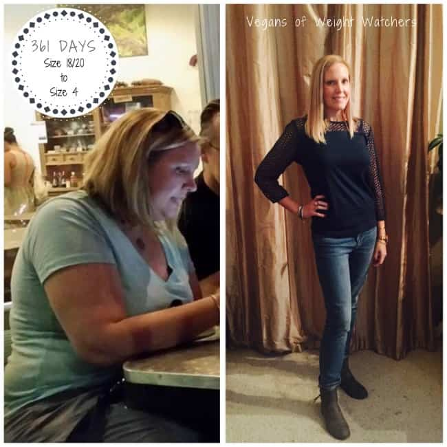 Vegan Weight Watcher Success Story Lori