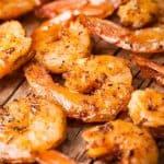 Southern BBQ Shrimp Close Up Above