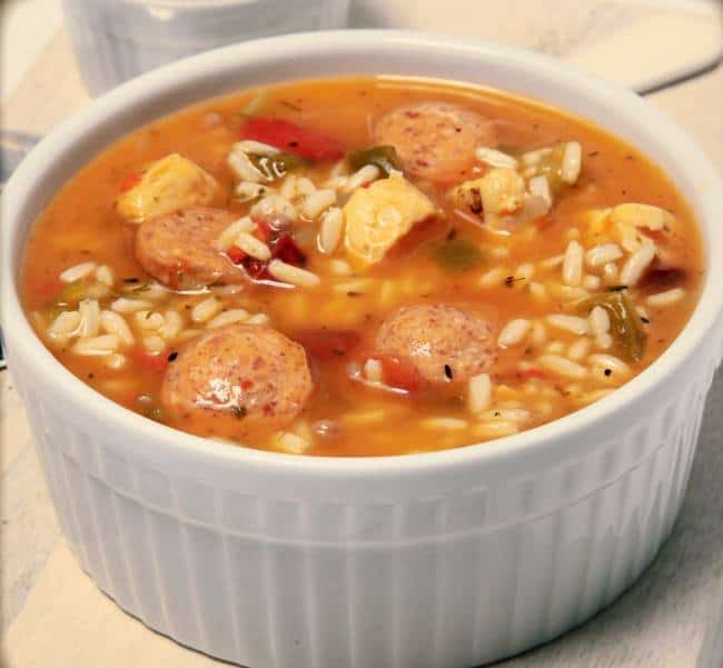 Weight Watchers Friendly Chicken and Sausage Gumbo - 3 SmartPoints