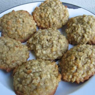 WW Friendly Banana Oatmeal Cookies