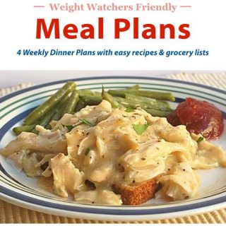 4 Weeks of Weight Watchers Dinner Recipes + Grocery Lists = An Entire Month of Easy Healthy Meals!