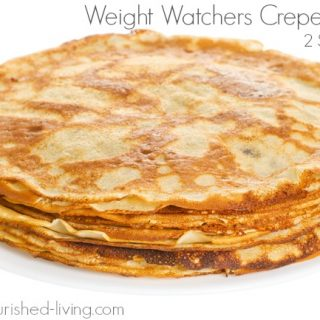Weight Watchers Crepes Recipe – 1 WW Freestyle SmartPoint
