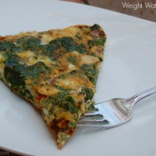 Weight Watchers Greek Frittata with Spinach and Feta Recipe