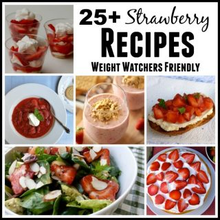 25+ Weight Watchers Friendly Strawberry Recipes