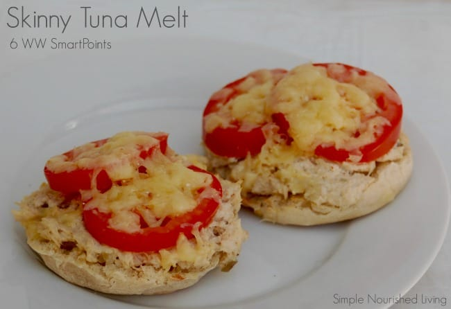skinny tuna melt 6 weight watchers smart points
