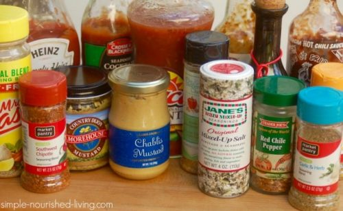 weight watchers friendly condiments