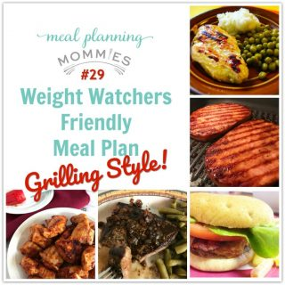 Meal Planning Mommies 29 Weight Watchers