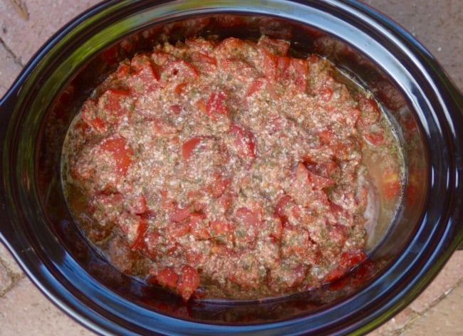 Skinny Italian Crock Pot Pork Roast - 3 Weight Watchers SmartPoints