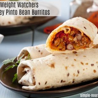 Weight Watchers Turkey Pinto Bean Burritos with SmartPoints